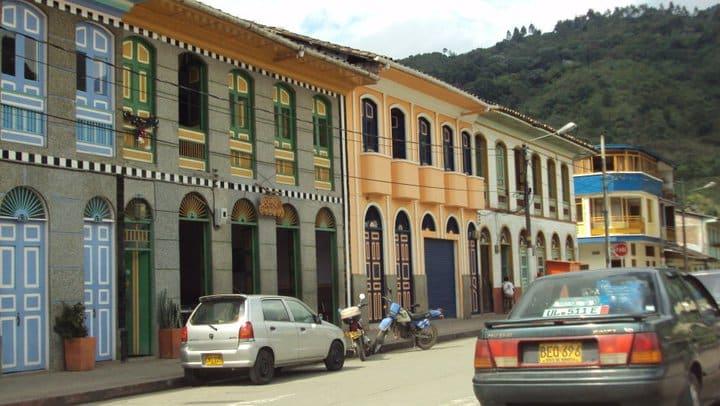 Casas coloniales en Pijao - Quindío