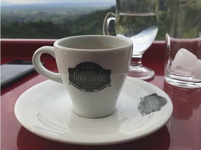 el Café del Café mirador Concorde en Pijao