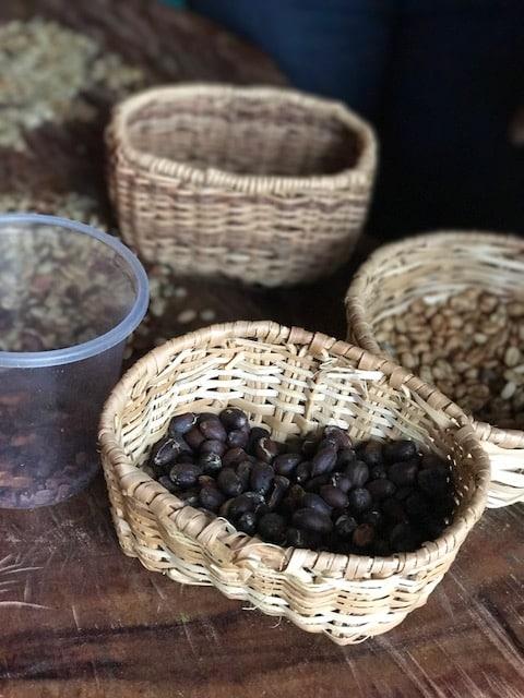 El cafe natural del cafe La Floresta