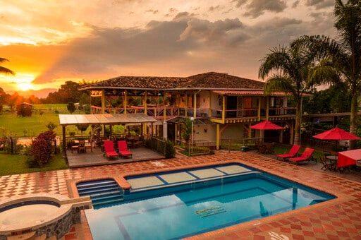 Ecohhotel Spa Paraíso Verde mejores alojamientos quimbaya