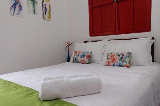 Habitación Ecohotel La Cabaña - mejores alojamientos Valle de Cocora Quindío