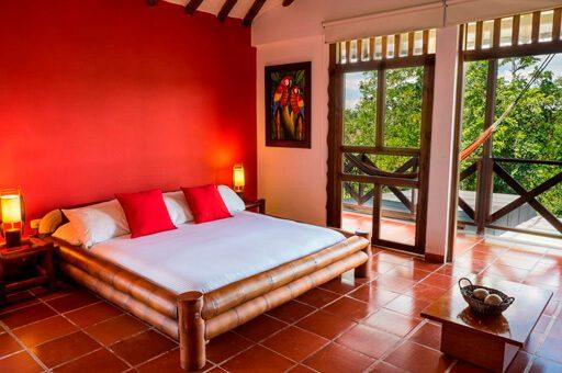Habitación Ecohotel Spa Paraíso Verde mejores alojamientos quimbaya