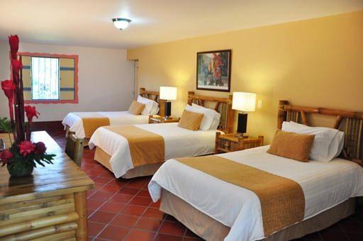 Habitación Hotel Campestre Las Camelias