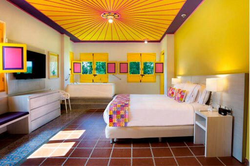 Habitación hotel Allure Café Mocawa - mejores alojamientos La Tebaida Quindío
