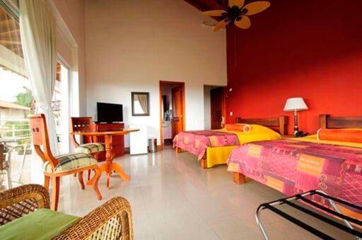 Habitación hotel Mirador Las Palmas - mejores alojamientos La Tebaida Quindío