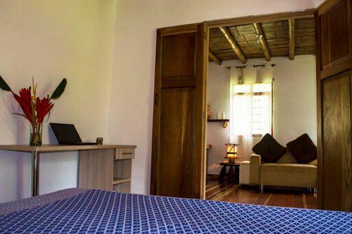 Habitación hotel Panorama Cafe pijao - mejores alojamientos Pijao Quindío