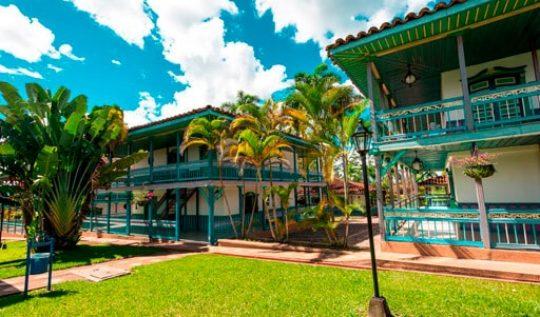 Hotel Decameron Las Heliconias mejores alojamientos quimbaya