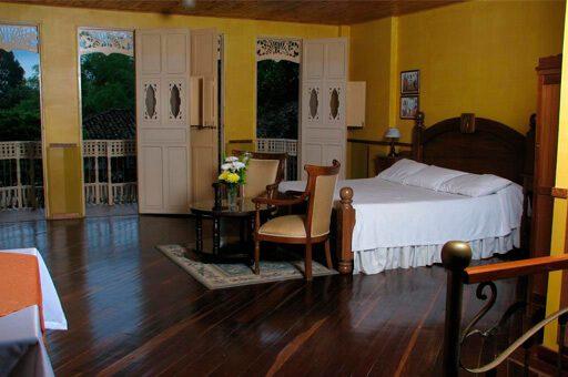 habitación hotel Eden Country Inn