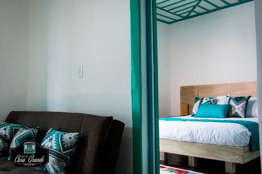 habitación hotel casa grande inn