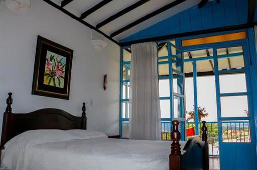 habitacion casa hotel el compadre - mejores alojamientos Filandia Quindío