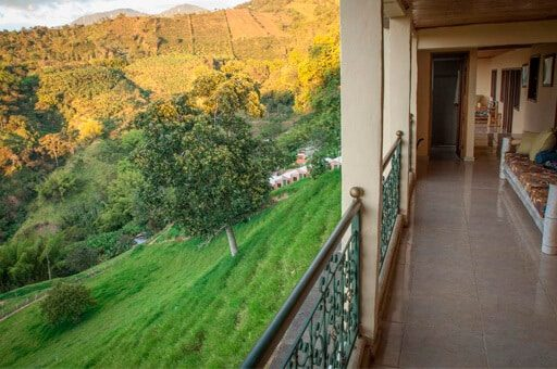 vistas panorama cafe hostel - mejores alojamientos Buenavista Quindío